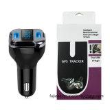 Pantalla OLED Tracker GPS Cargador de coche con USB Cargador rápido de coche