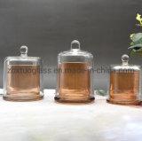 Напряжение питания на заводе стеклянный кувшин блендера Candler держателя при свечах купол кувшин блендера в золотой цвет