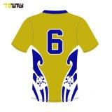 Collège de vert et jaune sublimé Cheap La Ligue de Rugby Jerseys