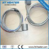 Resistente a alta temperatura del calentador de la bobina de canal caliente