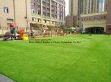 ホームヤードペットの庭の総合的な泥炭のための景色の人工的な草