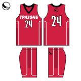 2018 ropa deportiva personalizada Wholesales poliéster sublimación el baloncesto Jersey y corto
