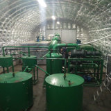 Máquina de destilação de vácuo, resíduos de óleo do sistema Re-Refinning, máquina de reciclagem de Óleo de Motor Usado