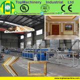 De moldeo de plástico PS el bastidor de espuma de la máquina de extrusión de lámina de estampado en caliente de la planta de producción del bastidor PS