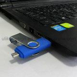Поворотный OTG флэш-накопитель USB для ОС Android мобильный телефон и компьютер