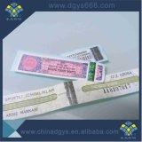 Печать Anti-Fake лотерейных билетов поощрения купоны