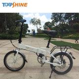 Личный перевозчик литиевая батарея складной велосипед с электроприводом 18 дюймов