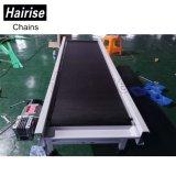 Sistema di trasportatore diritto del commestibile del pallet di Hairise con la cinghia in PVC