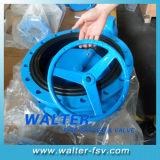 4-дюймовый обработки чугуна резиновое уплотнение вафельной двухстворчатый клапан
