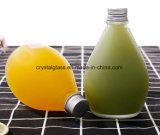 Novo Design Frost 280ml 350ml garrafa de sumo de vidro forma de Queda