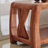 Cinzas de madeira sólida sala de estar mobiliário moderno em madeira armário de TV (M-X2007)