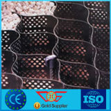 HDPE Geocell in het Grint Geocell wordt gebruikt die van de Stabilisator van het Net Geocell/van het Grint van de Aanleg van Wegen