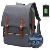 Novo design do computador portátil notebook College Backpack 15.6 com carregador USB
