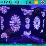 Video indicatore luminoso della fase di effetto dello schermo di visualizzazione della tenda del LED