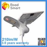 210lm/Wリモート・コントロールの屋外の太陽LEDの通りの道ライト