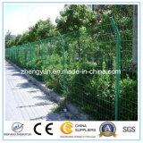 Frontière de sécurité soudée enduite par PVC de treillis métallique de fournisseur de la Chine, frontière de sécurité de treillis métallique