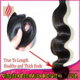 Body Wave Extensão do cabelo humano da Virgem do Brasil / Weave do cabelo
