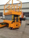 A verticalidade automotora dos produtos novos da fábrica de China Scissor elevadores