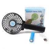 In het groot Draagbare Hand - gehouden Vouwbare Mini Navulbare Handbediende Ventilator USB voor de Zomer