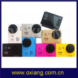 """OEM камера спорта экрана Service1080p HD 2 """" с функцией W9 WiFi"""