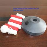1 medidor de plástico guia Delineator Post com correntes