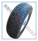 금속 변죽을%s 가진 16X6.5-8 외바퀴 손수레 압축 공기를 넣은 고무 바퀴
