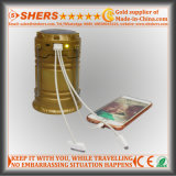 3W COB LED Lanterna de acampamento solar com tocha de LED (SH-1995B)