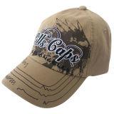 Mejor diseño lavado gorra de béisbol con el logotipo frontal Gjwd1745