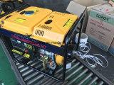3kw раскрывают тип охлаженный воздухом тепловозный блок генератора для сбывания отверстия