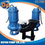 Versenkbare Abwasserkanal-Pumpe in der tiefen Vertiefung