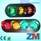 Indicatori luminosi del segnale stradale della bicicletta