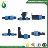 Raccord de tuyauterie de compression de tuyau d'irrigation en plastique