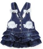 熱い販売の方法赤ん坊の`Sジーンの女の子の服