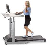 Gym Equipment Home Treadmill com mesa