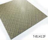 La superficie de desgaste de patrón de alfombras pisos de vinilo azulejos