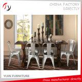 Трактир гостиницы металла сырцовый серебряный первоначально обедая стул (TP-7)