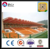 Estructura de acero prefabricada de la alta calidad china del bajo costo para el taller (ZY233)