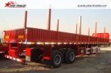 Absinken-Seiten-halb LKW-Schlussteil mit Behälter-Verschlüssen
