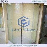 Vidrio de Decoración en Cuarto de Ducha con Vidrio Tallado y Vidrio Aguado con Ce & CCC
