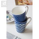 Forma di v/figura personalizzata/possedere la tazza di tè di ceramica della Cina di stile