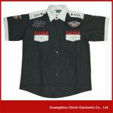 Custom Design Staff Shirts Uniforme para 4s Gas Shop (S34)