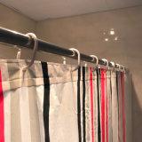Vertikale Streifen PEVA imprägniern Duschvorhang für Badezimmer