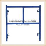 Het v-stijl blauwe Poeder bedekte de Enige Frames van de Ladder met een laag