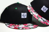 方法花デザインスポーツのトラックの平らな急な回復の帽子