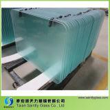 Panneaux de coupe à verre trempé transparent de 5 mm avec sérigraphie