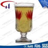 tasse de vin de verre à chaux sodée de la pente 260ml premier (CHM8184)
