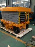 Plataforma hidráulica eléctrica 16m móvil Ascensor