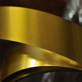 0,21mm Espessura dourada Lacquared Tinplate Steel Strip