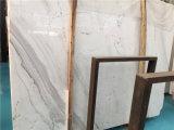Mattonelle bianche di marmo della lastra di spessore di Volakas 18mm