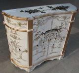 Cabinet de meuble de reproduction antique